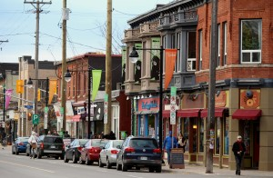 Bank St., one of the main streets in Ottawa's capital ward.