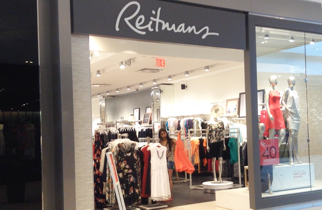 Reitmans' location in the Halifax Shopping Centre