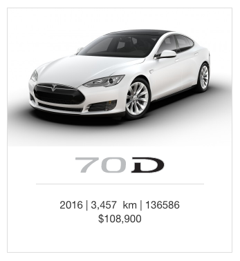 The cheapest model goes for 100K