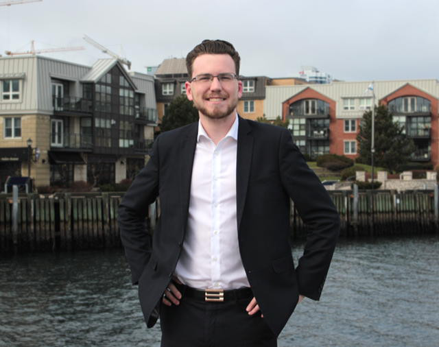 Dominick Desjardins is the youngest candidate in a three person race for Halifax's District 7 (Provided by Dominick Desjardins)
