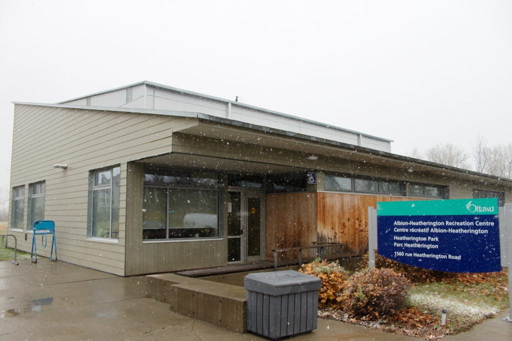 The Albion Heatherington Recreation Centre received funding for a community kitchen earlier this year. Photo by Olivia Bowden.