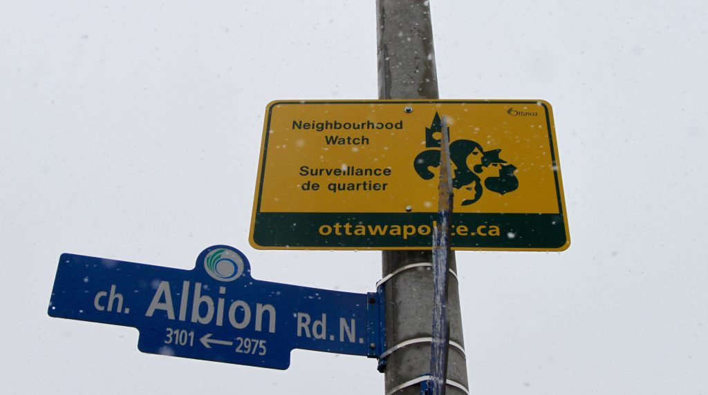 Crime remains a worry, say residents of the Albion-Heatherington neighbourhood. Photo by Olivia Bowden.